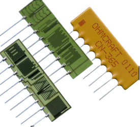 Ohmcraft Resistors > Leaded Resistors - Custom Leaded Resistor Networks (CN Series)