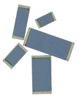 Ohmcraft Resistors > Surface Mount Resistors - Ultra High Voltage Chip Resistors (UHVC Series)