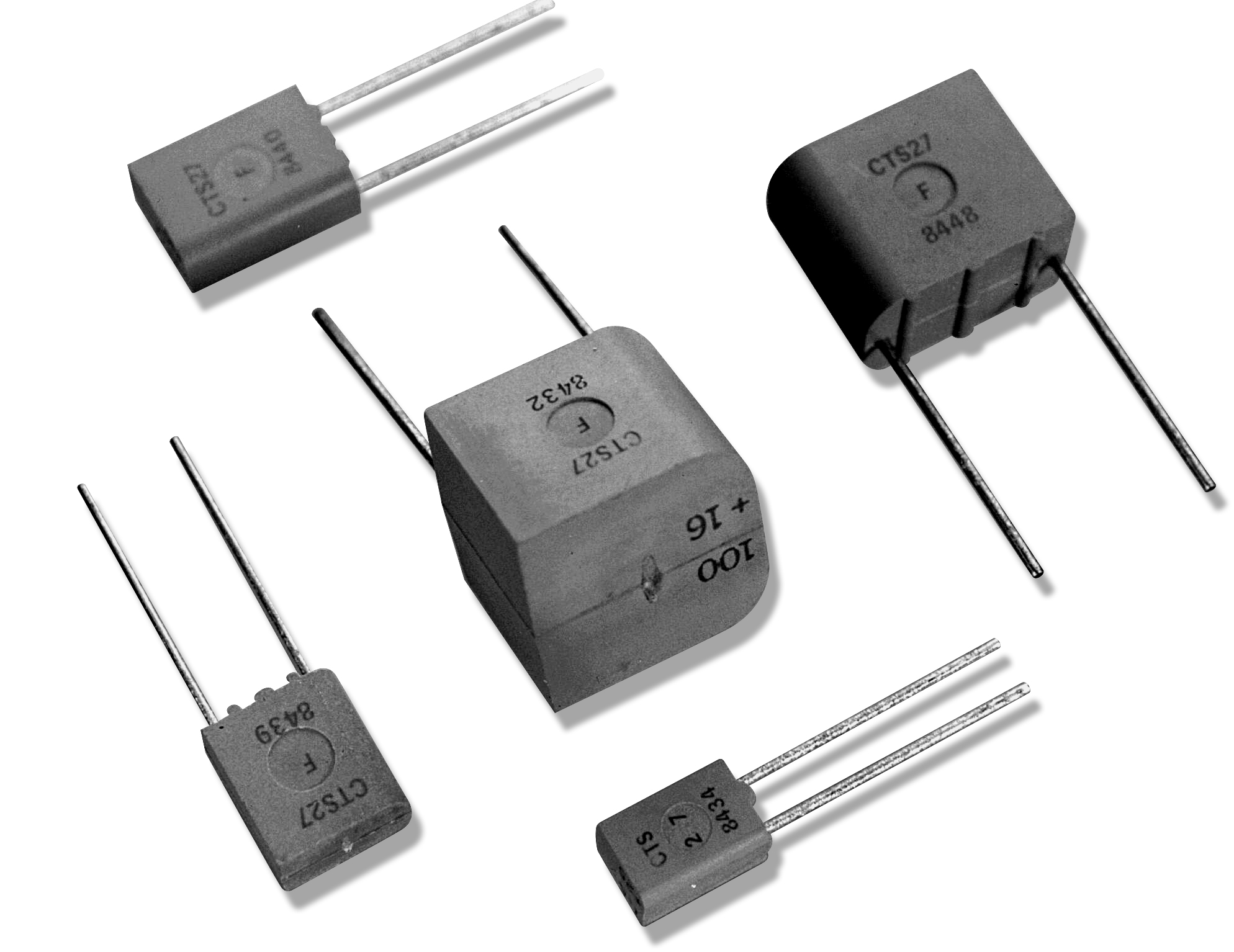 Exxelia - CTS 27 (Capacitors > Tantalum > Solid MnO2)